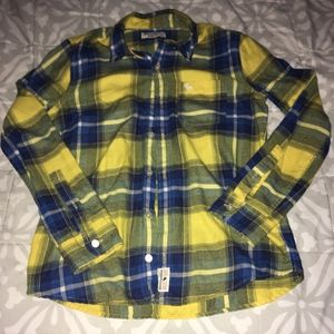 Abercrombie Kids Platted long Sleeve